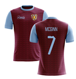 2019-2020 Villa Home Concept Football Shirt (McGinn 7)