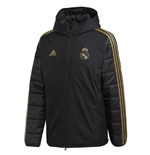 2019-2020 Real Madrid Adidas Winter Jacket (Black)