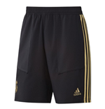 2019-2020 Real Madrid Adidas Training Woven Shorts (Black)