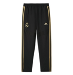 2019-2020 Real Madrid Adidas Training Woven Pants (Black) - Kids