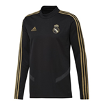 2019-2020 Real Madrid Adidas Training Top (Black) - Kids
