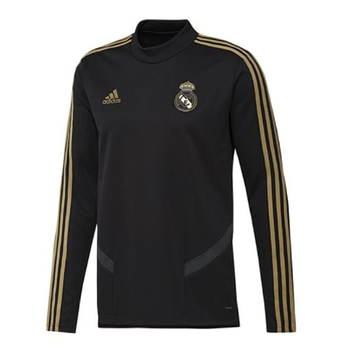 2019-2020 Real Madrid Adidas Training Top (Black)
