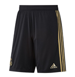 2019-2020 Real Madrid Adidas Training Shorts (Black) - Kids