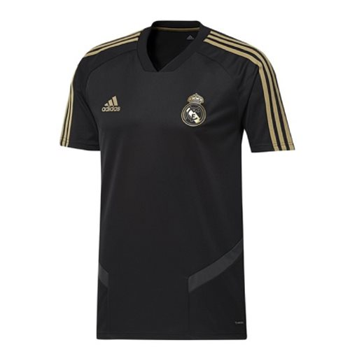 2019-2020 Real Madrid Adidas Training Shirt (Black)