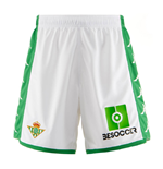 2019-2020 Real Betis Kappa Home Shorts (White)