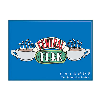 FRIENDS Central Perk Blue Magnet