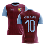 2019-2020 Villa Home Concept Football Shirt (Your Name)