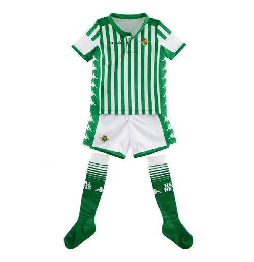2019-2020 Real Betis Kappa Home Mini Kit