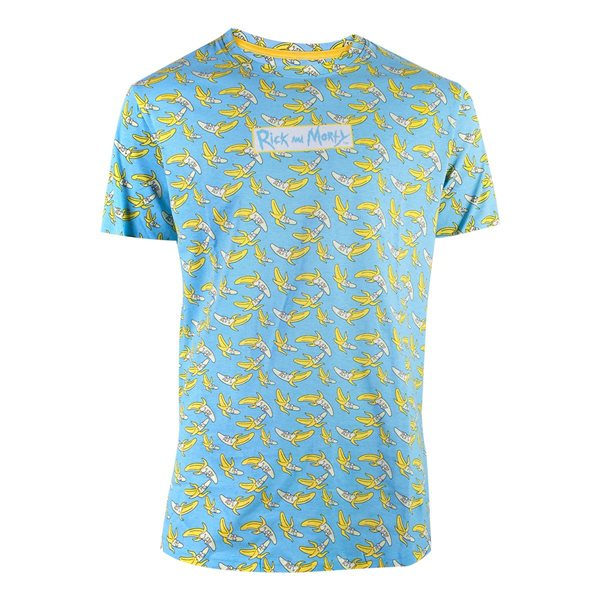 Rick & Morty - Banana AOP  Men's T-shirt