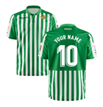 2019-2020 Real Betis Kappa Home Shirt (Kids) (Your Name)