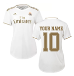 2019-2020 Real Madrid Adidas Womens Home Shirt (Your Name)