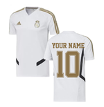 2019-2020 Real Madrid Adidas Training Shirt (White) (Your Name)