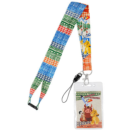 LION KING Lanyard