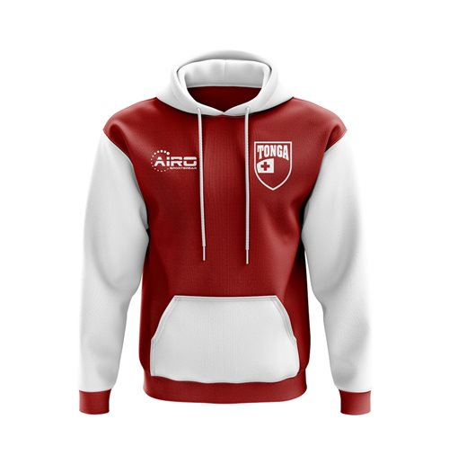 Tonga Concept Country Football Hoody (Red)