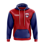 Serbia Concept Country Football Hoody (Red)