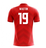 2018-19 Costa Rica Airo Concept Home Shirt (Waston 19)