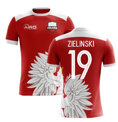 2018-2019 Poland Away Concept Football Shirt (Zielinski 19) - Kids