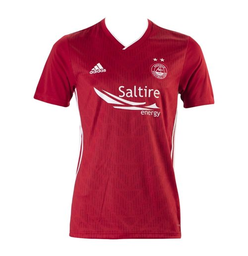 2019-2020 Aberdeen Adidas Home Football Shirt