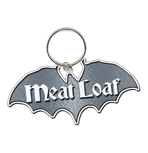 Meat Loaf Standard Keychain: Bat Out Of Hell