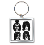 KISS Standard Keychain: Graphite Faces