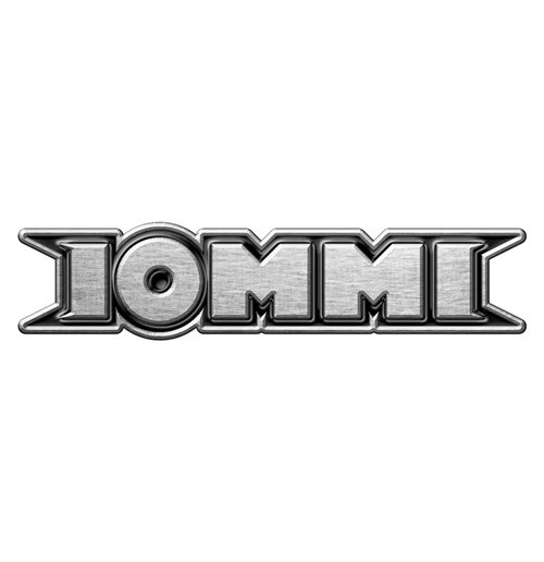 Tony Iommi Pin Badge: Logo (Retail Pack)
