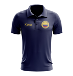 Colombia Football Polo Shirt (Navy)