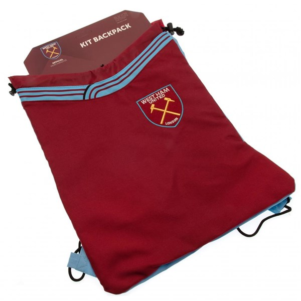 West Ham United F.C. Drawstring Backpack