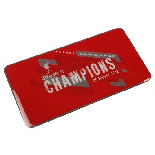 Liverpool F.C. Champions Of Europe Fridge Magnet