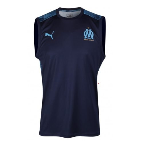 2019-2020 Marseille Sleeveless Shirt (Peacot)