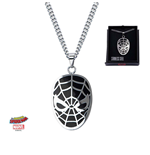Spider-Man Stainless Steel Pendant with Chain Face