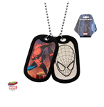 Spider-Man Dog Tags with ball chain Face