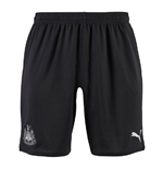 2019-2020 Newcastle Home Football Shorts (Black)
