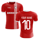 2019-2020 Aberdeen Home Concept Football Shirt (Your Name)