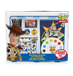 DISNEY Toy Story 4 My Activities Box with 1000pcs Creative Accessories, Multi-colour