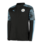 2019-2020 Manchester City Puma Woven Jacket (Black)