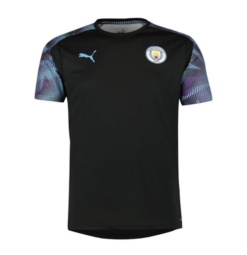 2019-2020 Manchester City Puma Training Shirt (Black)
