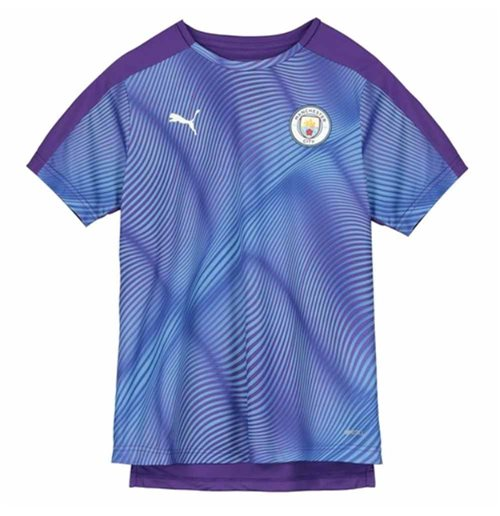 2019-2020 Manchester City Puma Stadium Jersey (Purple) - Kids