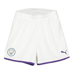 2019-2020 Manchester City Home Football Shorts (Kids)