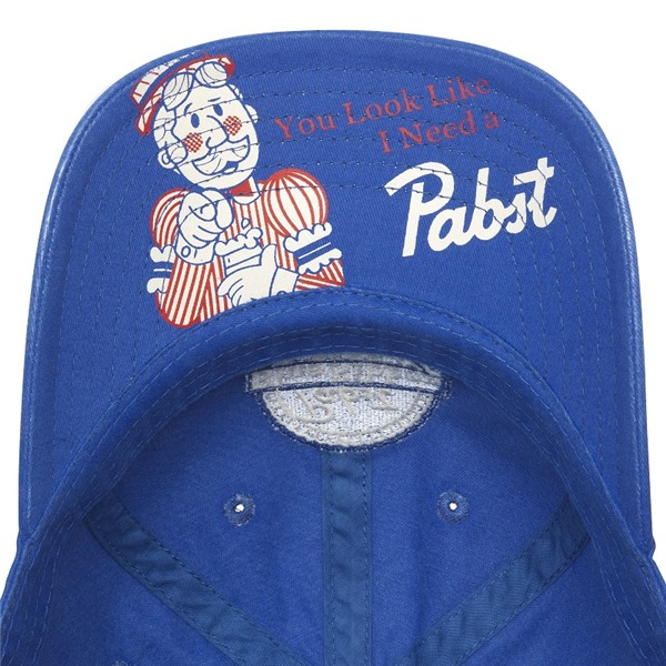 PBR Royal Blue Adjustable Strapback Hat