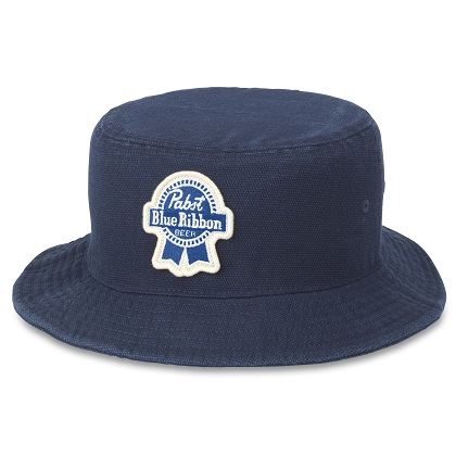 PBR Forrester Navy Blue Bucket Hat