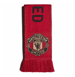2019-2020 Man Utd Adidas 3S Scarf (Red)
