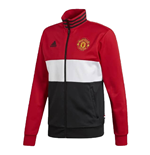 2019-2020 Man Utd Adidas 3S Track Top (Red)