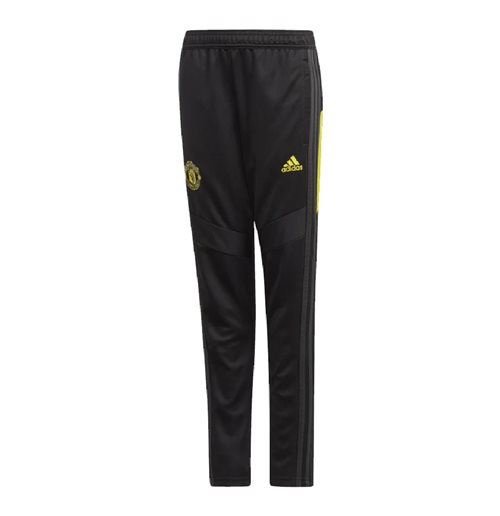 2019-2020 Man Utd Adidas Training Pants (Black) - Kids