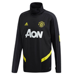 2019-2020 Man Utd Adidas Warm Top (Black)