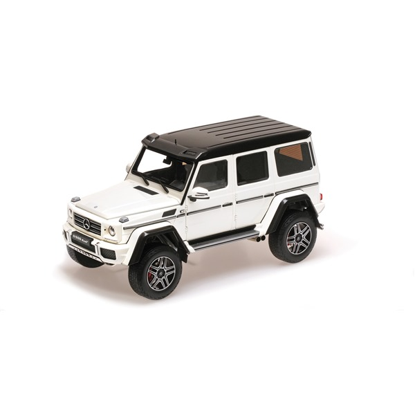 MERCEDES BENZ G500 4x4² WHITE