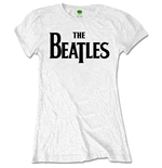 The Beatles Ladies Tee: Drop T Logo (Retail Pack)