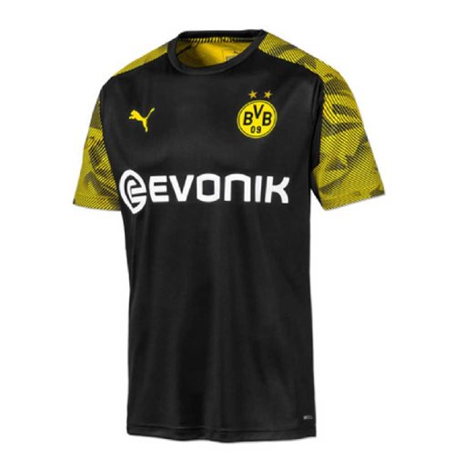 2019-2020 Borussia Dortmund Puma Training Shirt (Black) - Kids