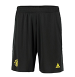 2019-2020 Man Utd Adidas Training Shorts (Black)