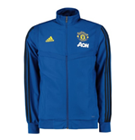 2019-2020 Man Utd Adidas Presentation Jacket (Blue)