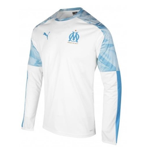 2019-2020 Marseille Rain Top (White)